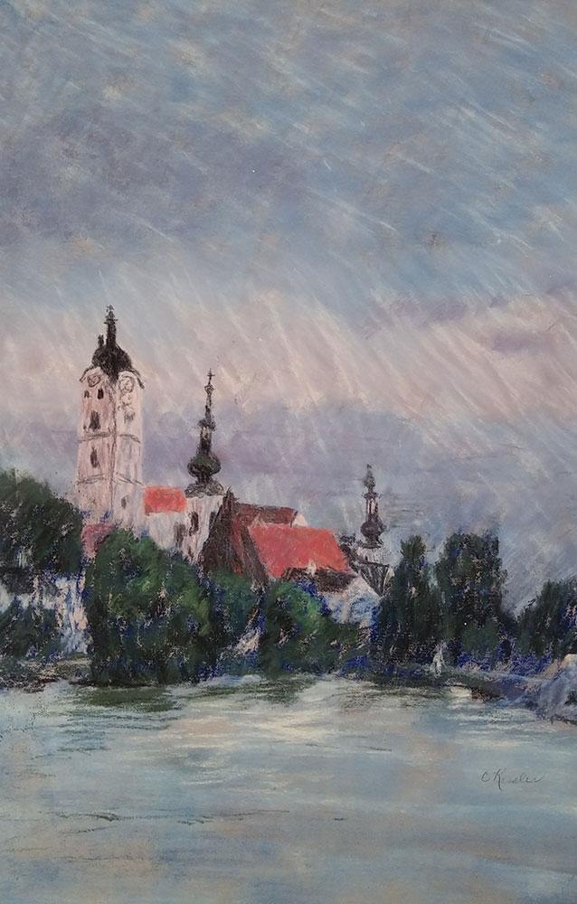 Along the Danube by Carol Kessler
