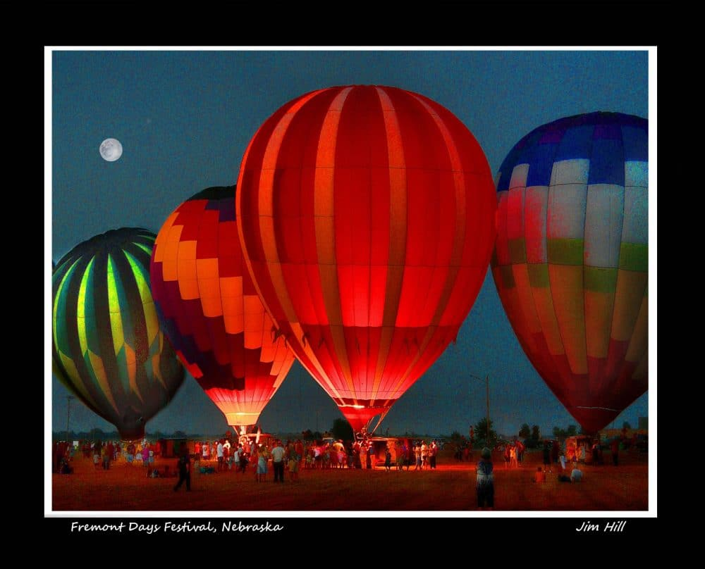 Baloons on Parade 3a by Jim Hill