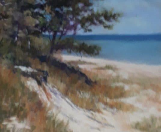 Point Beach, Wisconsin by Glenda Sue Goodpaster