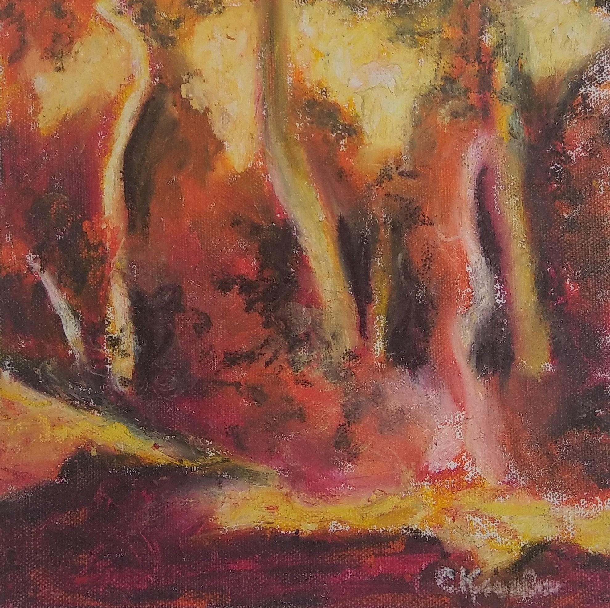 Birch Tree Variation by Carol Kessler