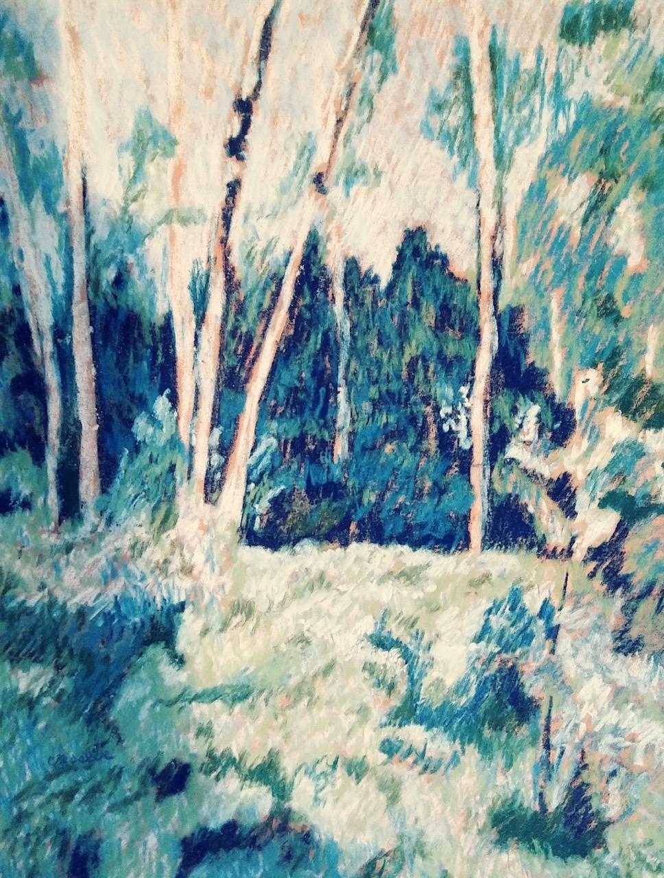 Birches by Carol Kessler