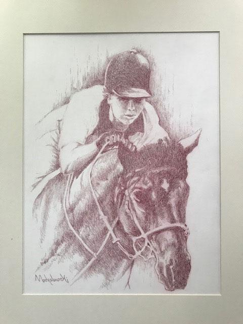 Brit Rider by Dan Modzelewski