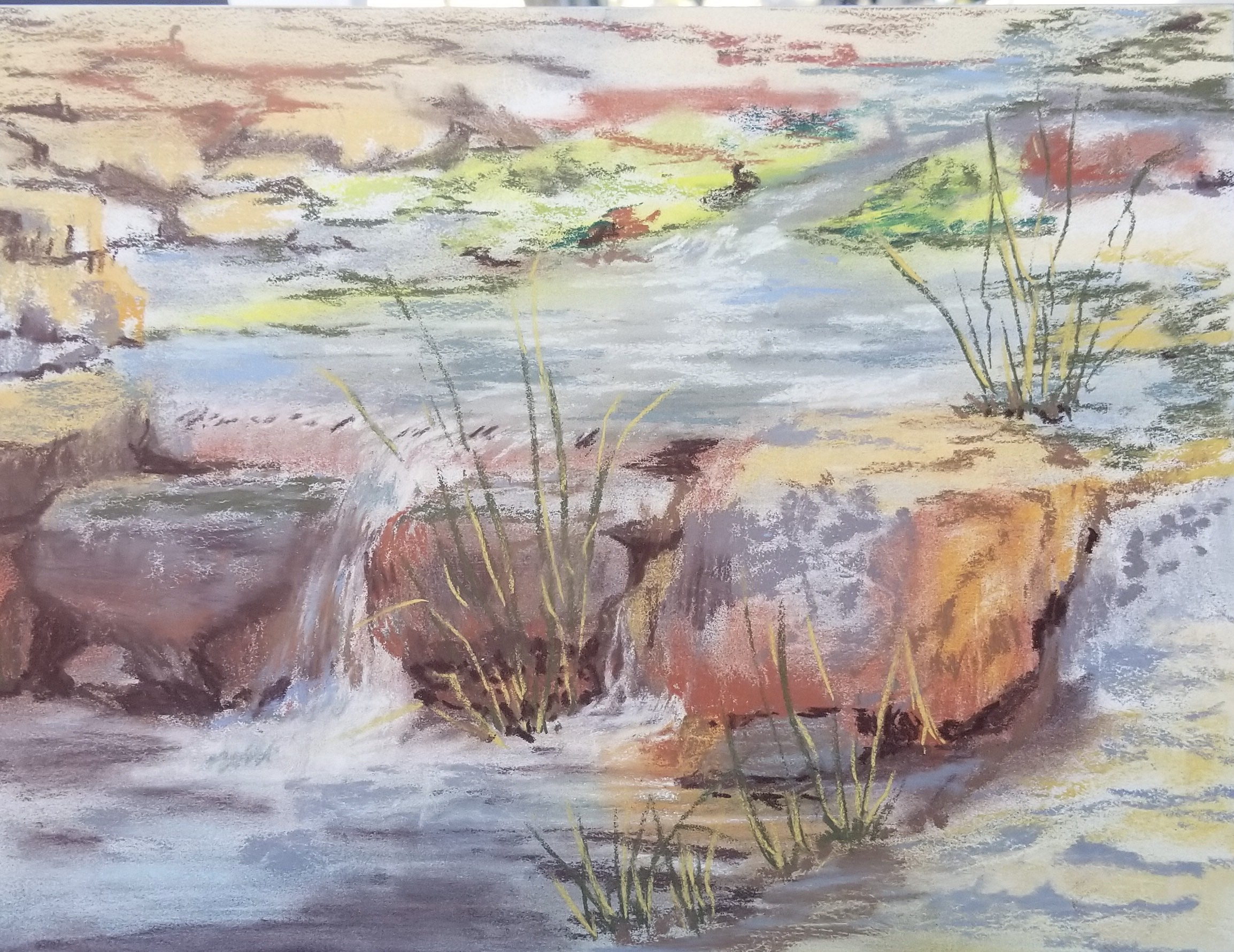 Watercolor Landscape by Jessica Disbrow