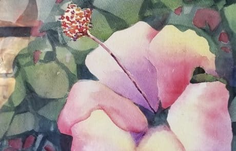 Watercolor Flower by Jessica Disbrow