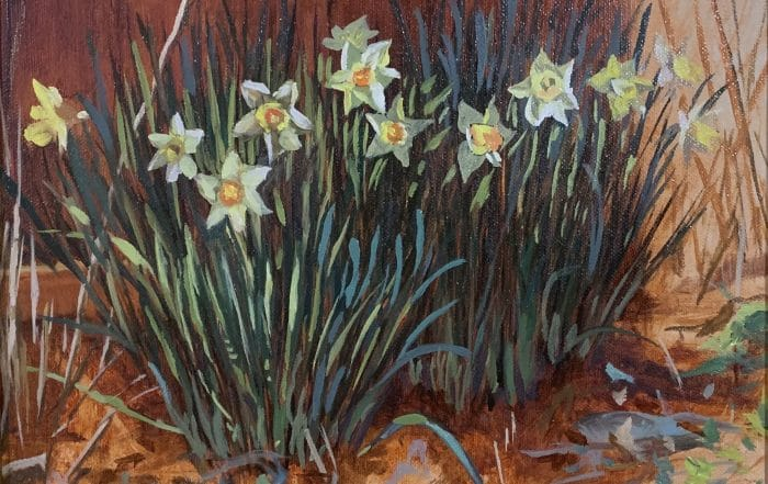 Easter Daffodils by Anthony Collins