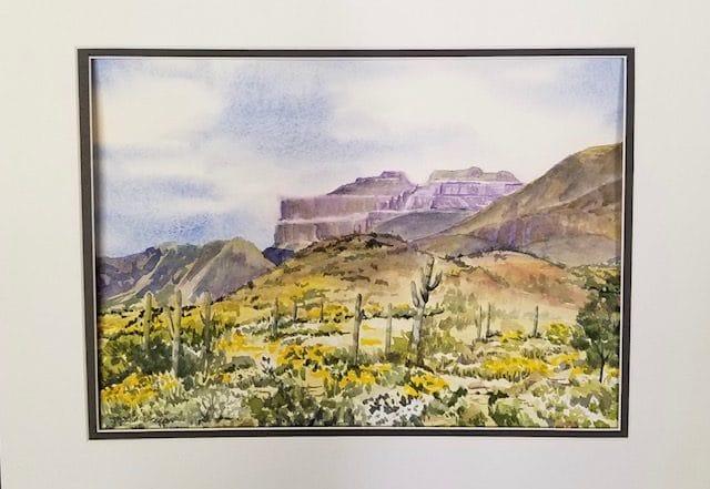 Flat Iron Mountain by Jessica Disbrow