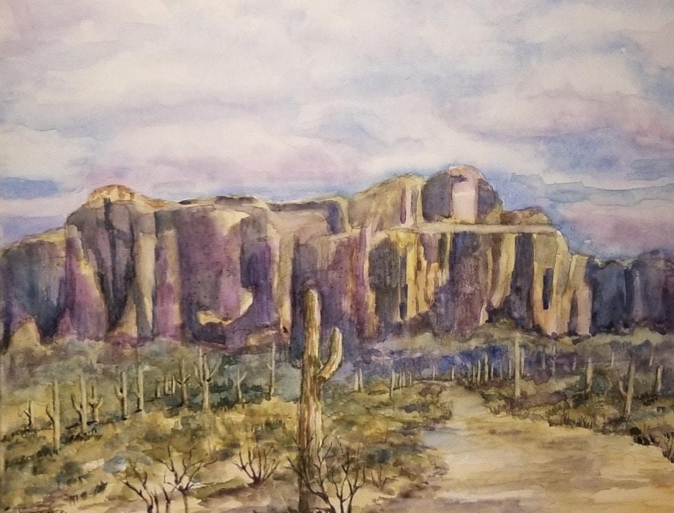 Flat Iron Mountain II by Jessica Disbrow