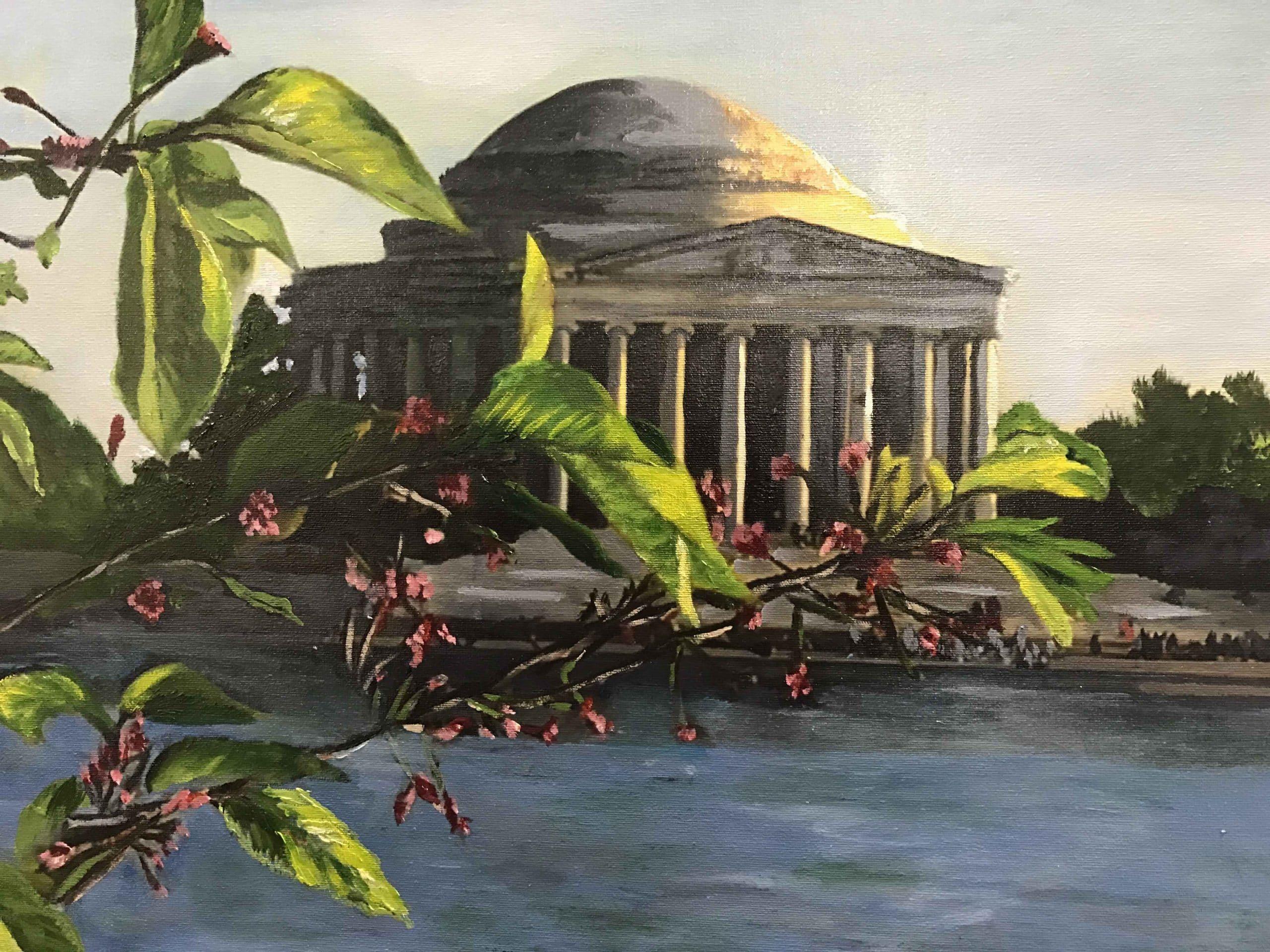 Jefferson Memorial by Barbara Dove