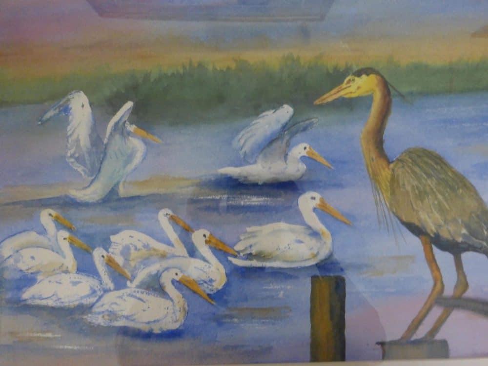 Lake Birds by Shirley Buescher