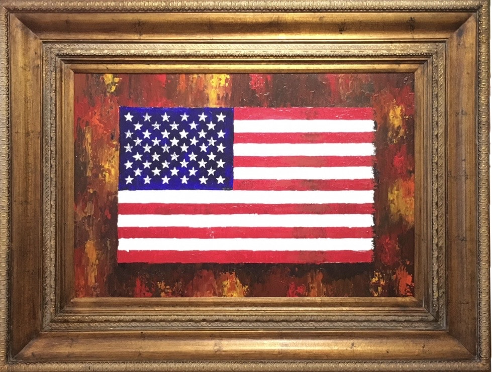 Old Glory by Robert Lumpp