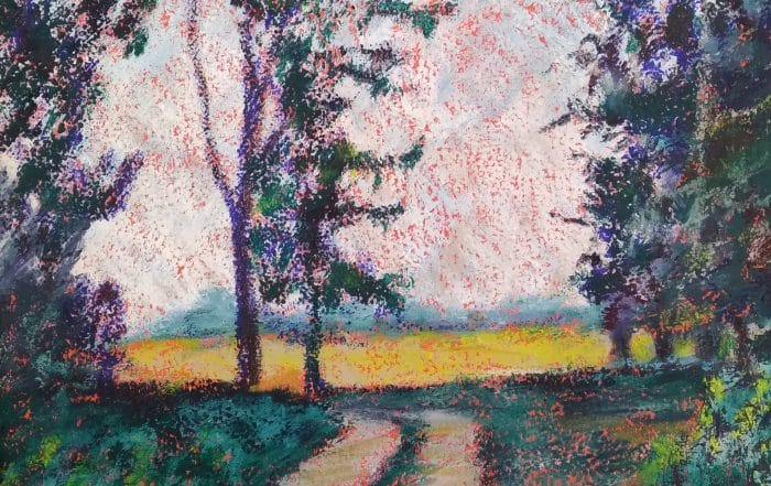 Madeline Island Field Path by Carol Kessler