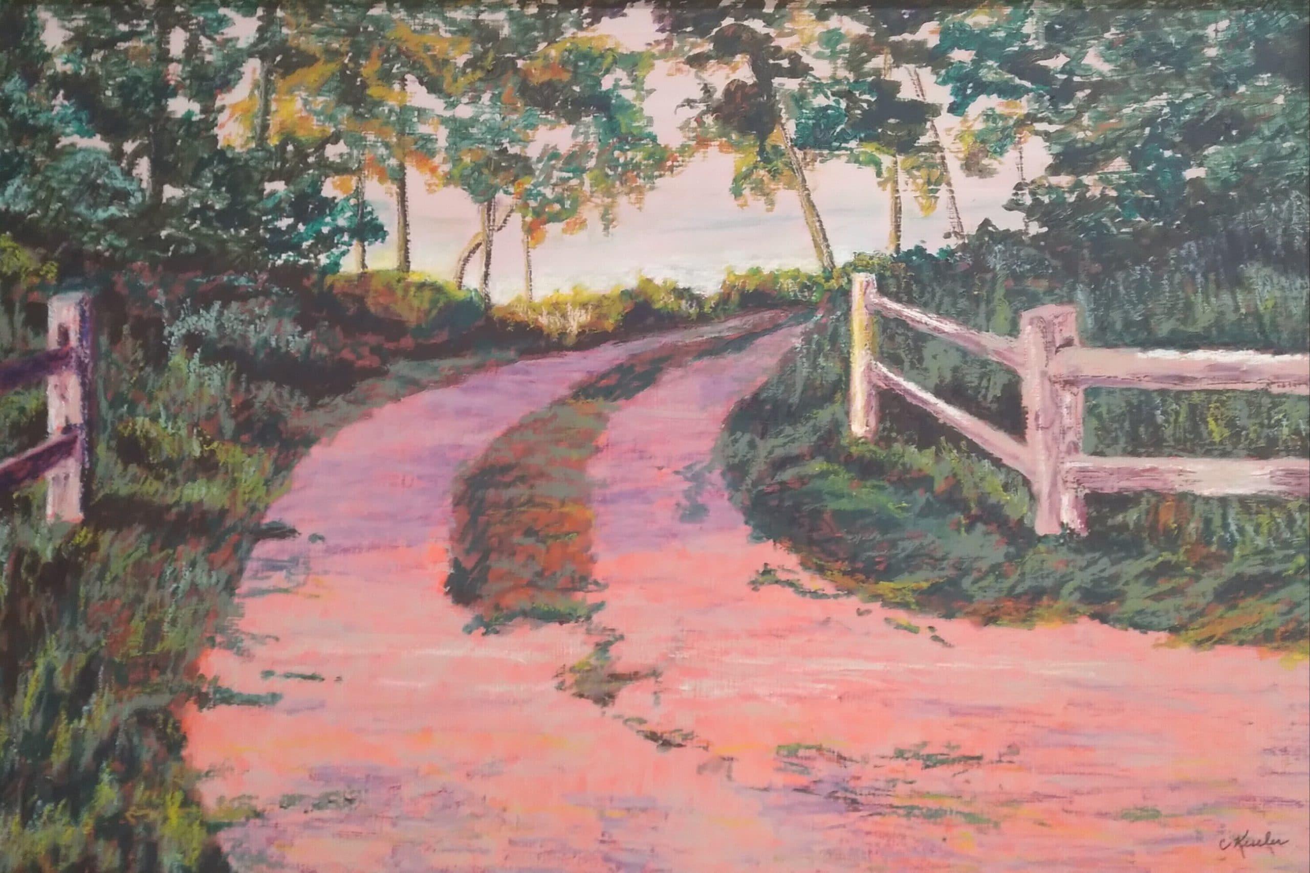 Madeline Island Pathway by Carol Kessler