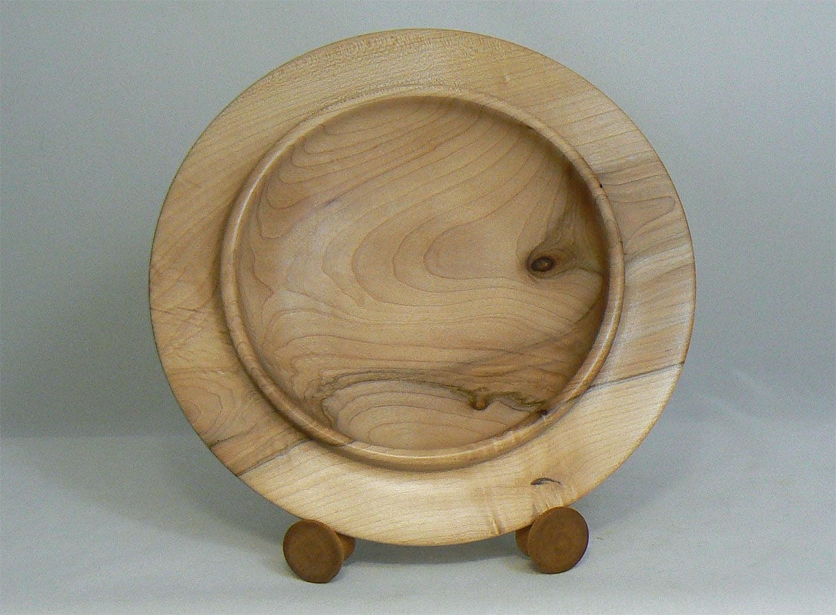 Maple Platter by Don Davis