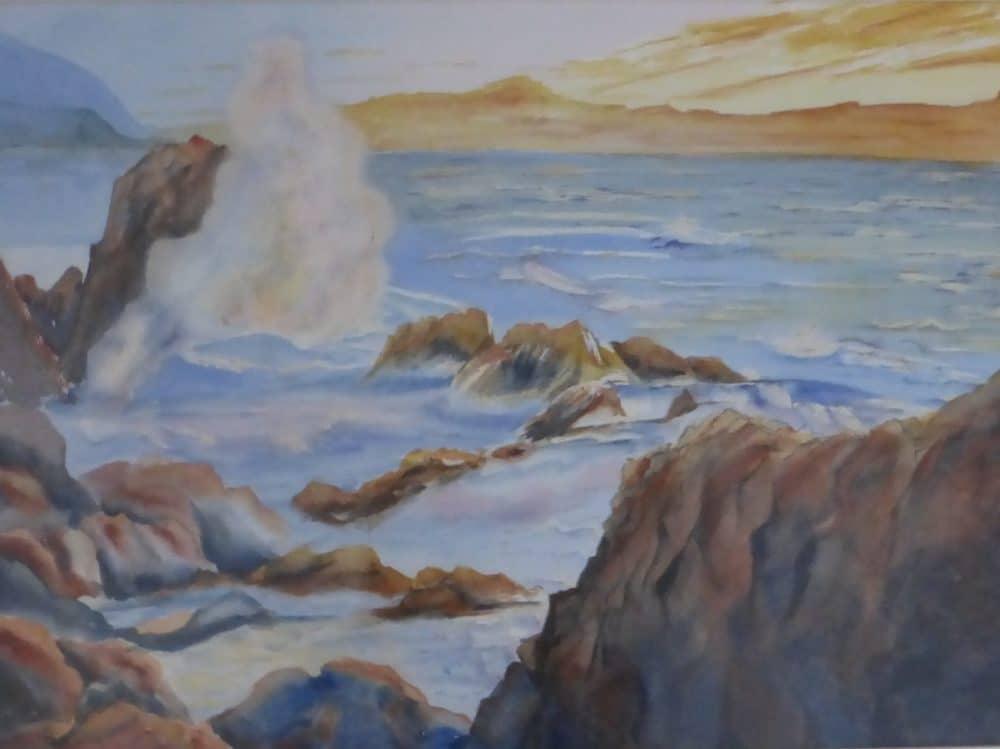 Mexico Coastline by Shirley Buescher