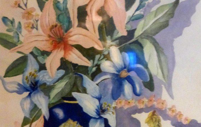 Oriental Still Life by Shirley Buescher