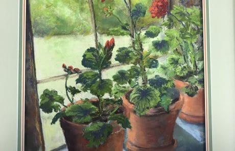 Pastel Window Series by Barbara Dove