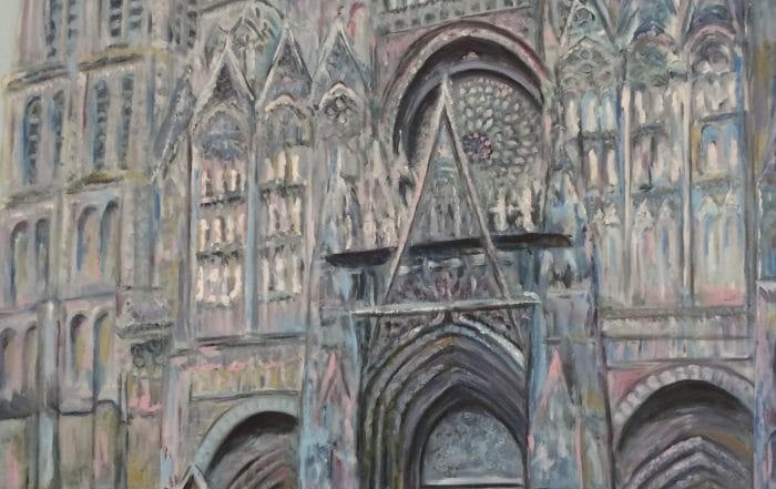 Rouen Cathedral by Barbara Dove