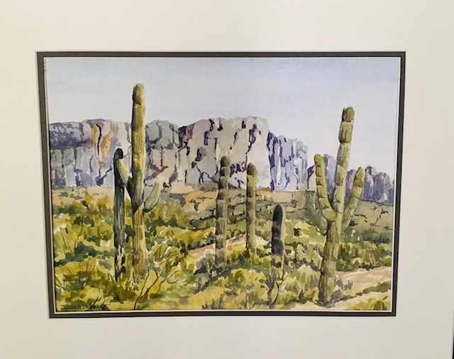 Saguaro by Jessica Disbrow