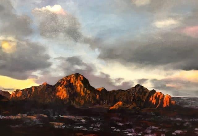 Sedona Morning Light by Barbara Dove