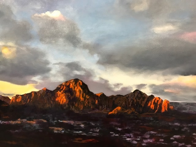 Sedona Morning Light by Barbara Dove