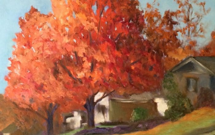 Shoreline Maple by Barbara Dove