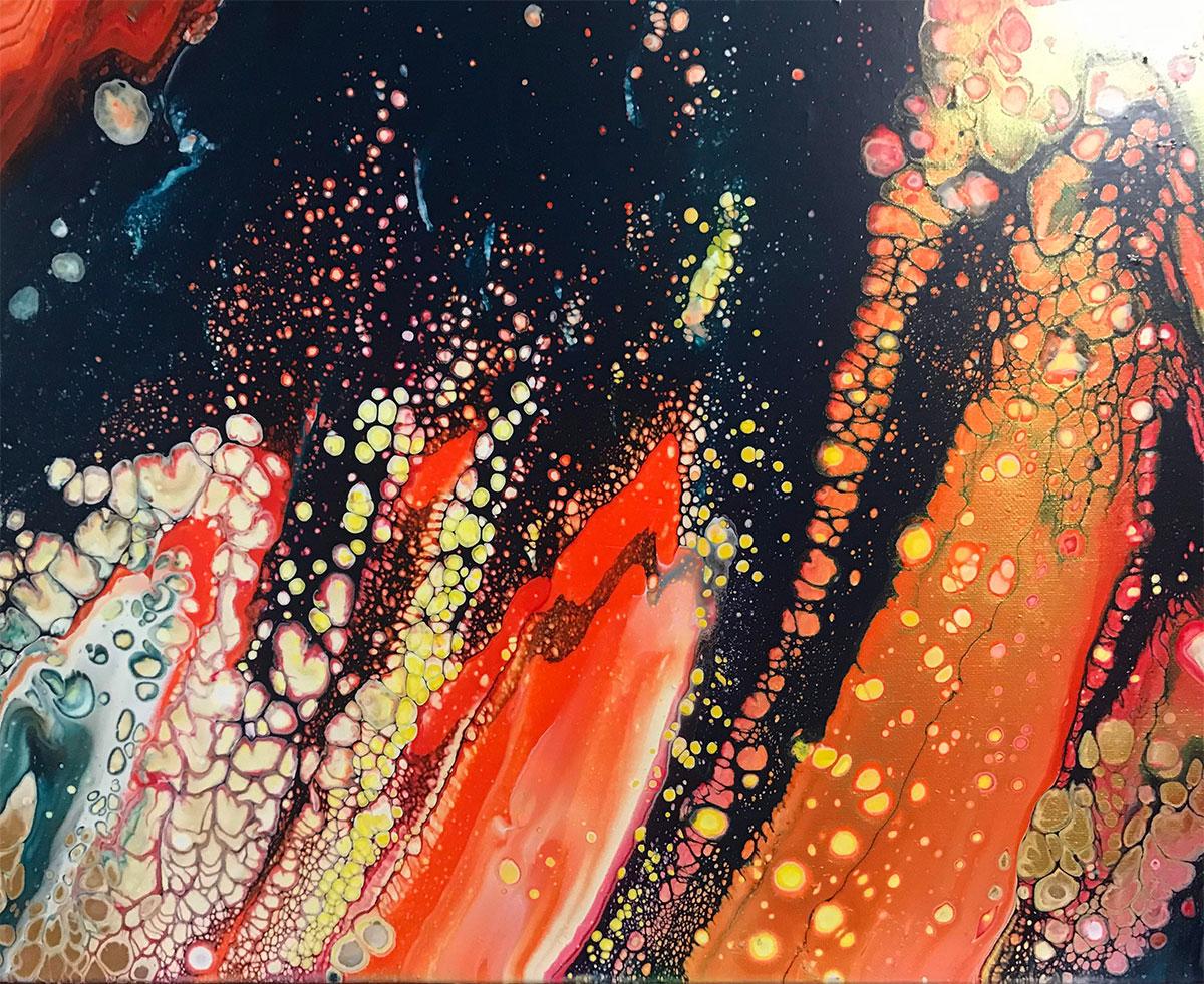 Solar Explosion by Marilyn Shull