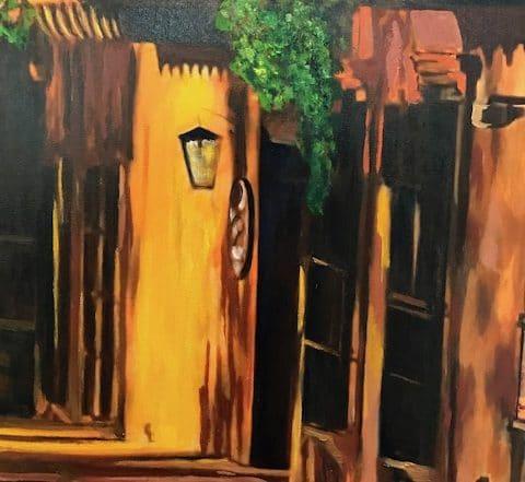 Tlaquepaque Shadows by Barbara Dove