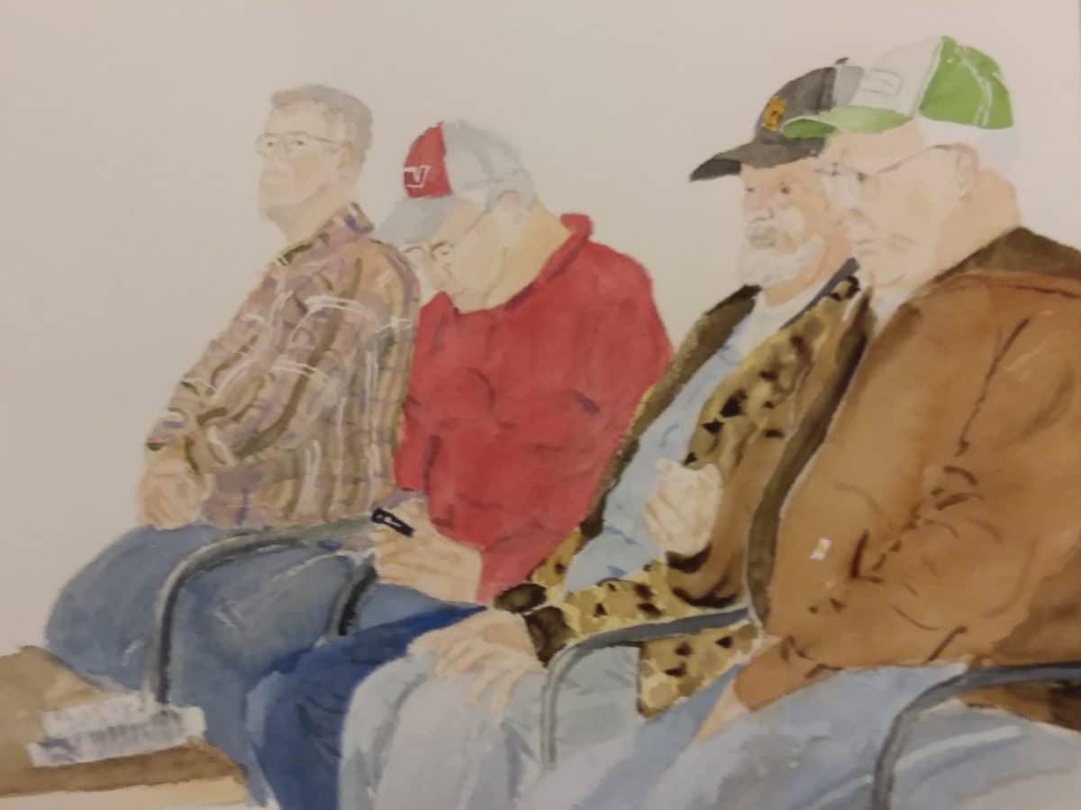 Waiting II by Michael Delaney