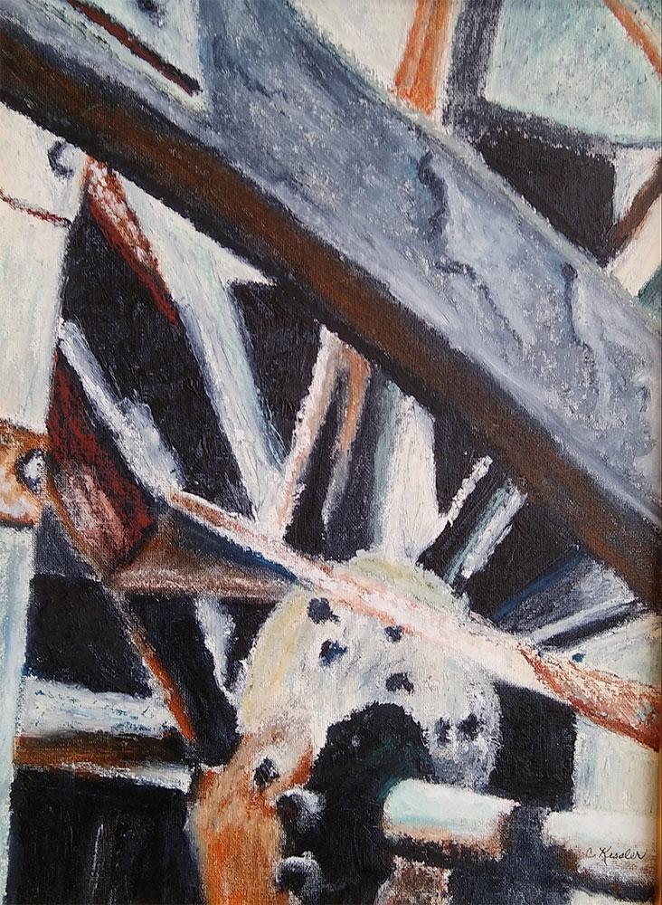 Watermill in Provence by Carol Kessler