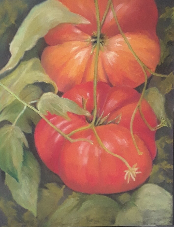 Tomatoes by Glenda Sue Goodpaster